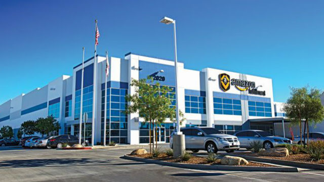 San diego office Lytx Amazon Fulfillment Center In San Bernardino Times Of San Diego Survey California Office Market Has Topped Out But Warehouses Are