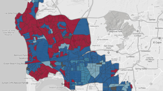 Maps of final 2018 primary election results in key San Diego County ...