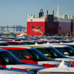 Car shipments at the Port of San Diego