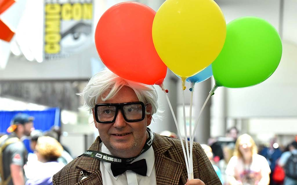 "Michale Shupe is Carl Fredricksen from ""Up."""