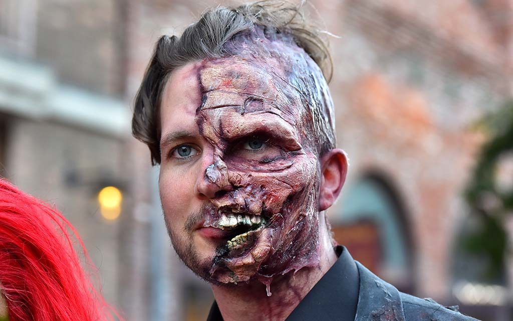 Scott Smith is Two-Face from Batman.