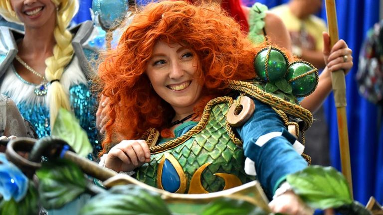 Malis Vitterfolk from San Jose is Merida from Brave.