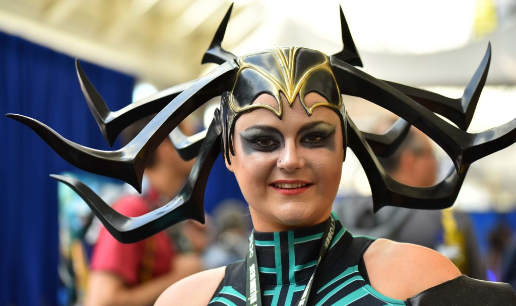 Catrina Simmons of Manchester, England is Hela, Goddess of Death.