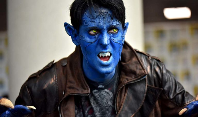 Brian Messick of Denver is Nightcrawler from X-Men.