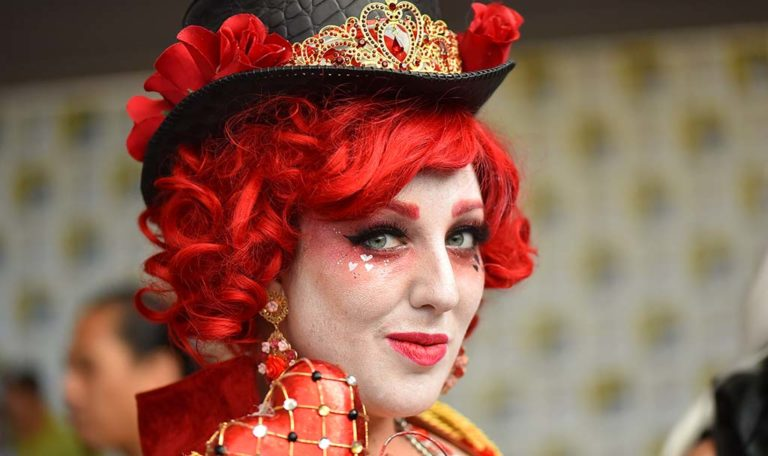 Ashley Howe of Orange County is the Queen of Hearts.