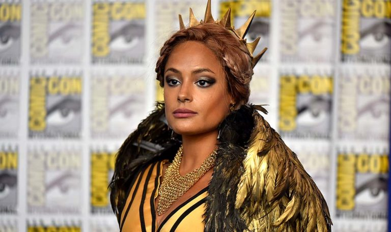 Nicole Bryan of Philadelphia is Queen Ravenna.