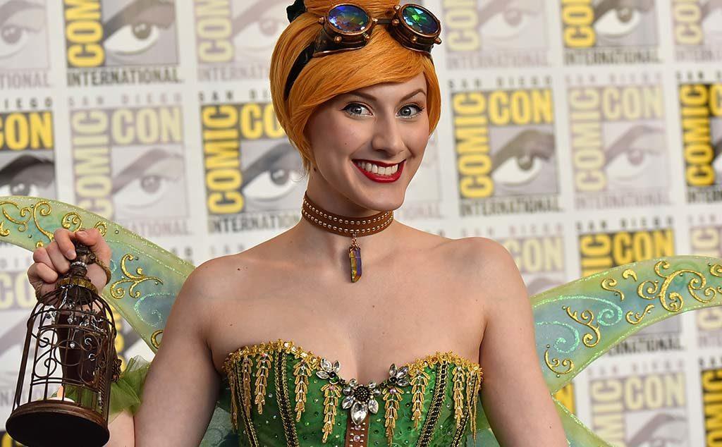 Tara Azarian of Valencia is Steampunk Tinkerbell.