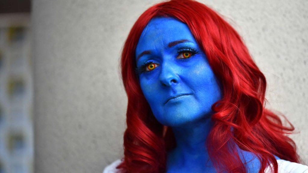Alisa Rhead of Idaho is Mystique from X-Men.