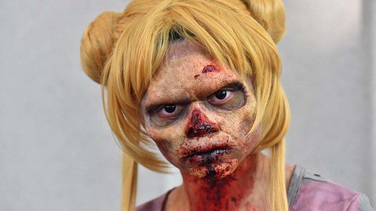 Jocelin Montejo is a Zombie Sailor Moon