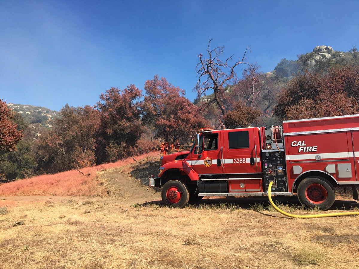 Creek Fire, Cal Fire Generic Engine