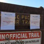 Three Sisters, Cedar Creek Falls Emergency closure