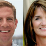 Mike Levin and Diane Harkey