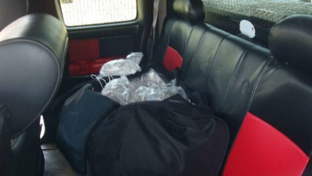 Duffel bag full of meth