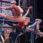 "Dancers in ""Newsies"""