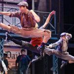 """Dancers in """"Newsies"""""""