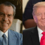 Presidents Nixon and Trump