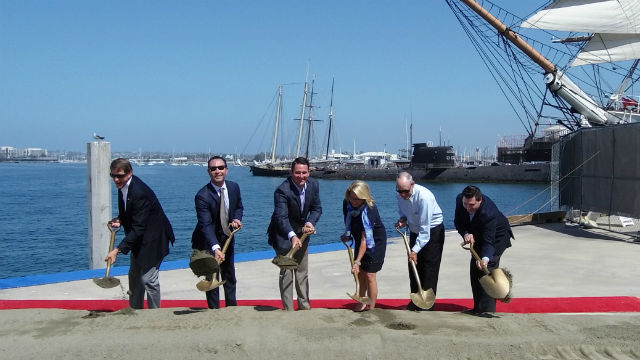 Ceremonial groundbreaking
