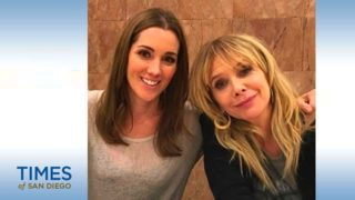 """East County native Carly Craig (left) stars in the YouTube Premium show """"Sideswiped"""" with Rosanna Arquette (as her mom.)"""