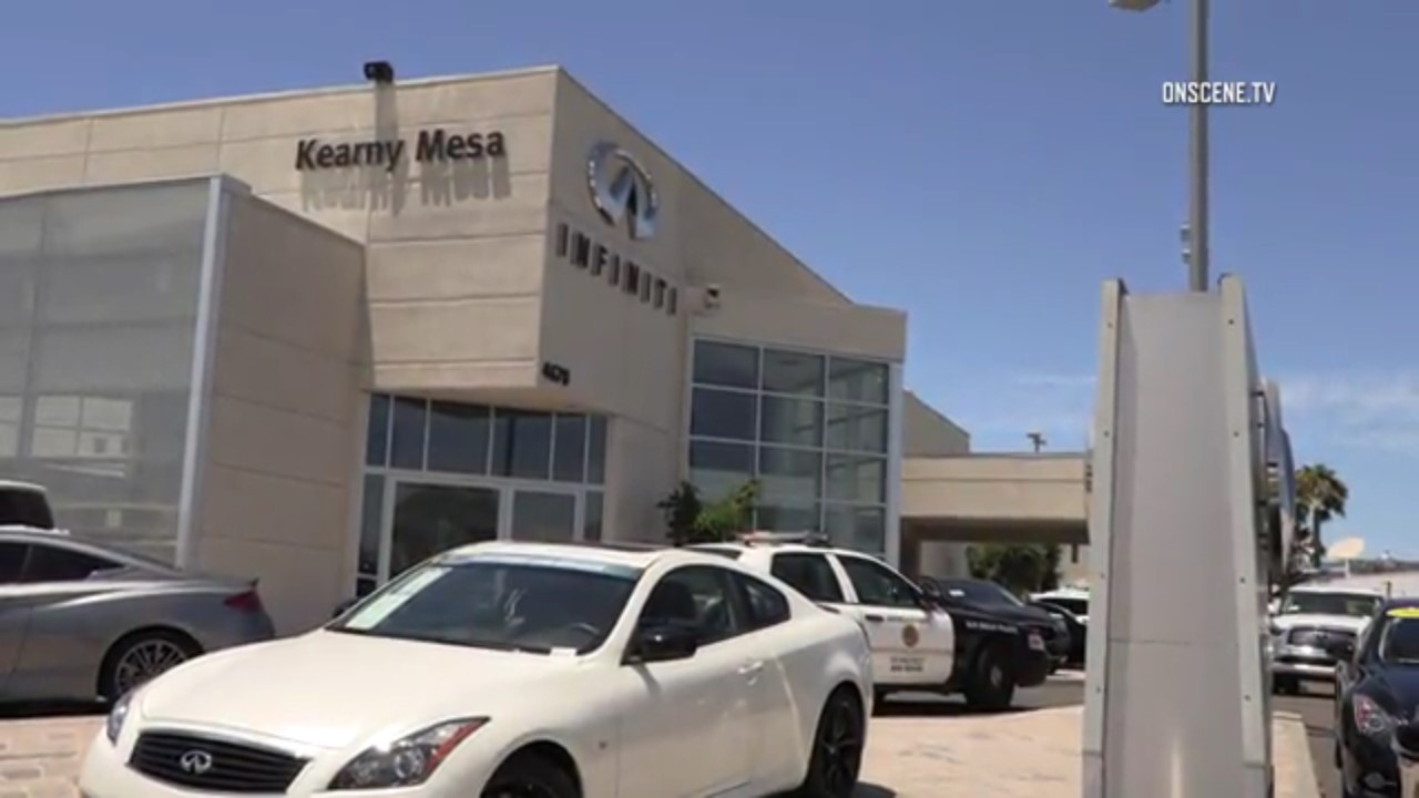 Infiniti San Diego >> Suspect Steals Qx50 From Kearny Mesa Infiniti Leads Police Chase On