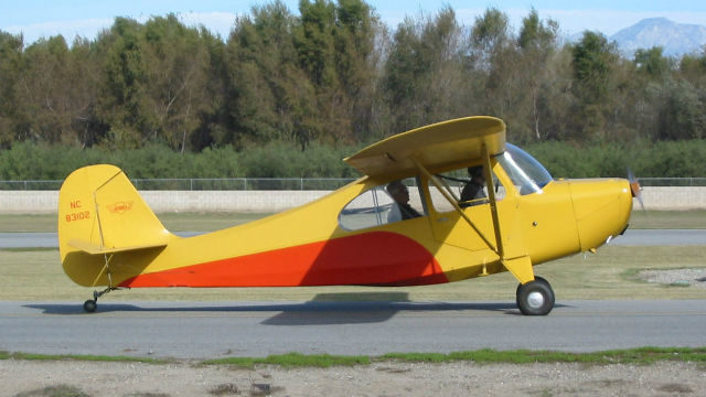 Champion 7KCAB aircraft