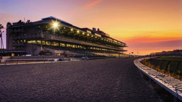 Del Mar Racetrack-Grandstand- Under The Lights