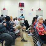 DMV waiting line