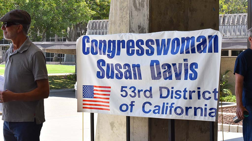 About 150 attended a town hall meeting with U.S. Rep. Susan Davis at Southwestern College.