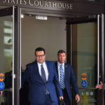 Duncan Hunter leave courthouse