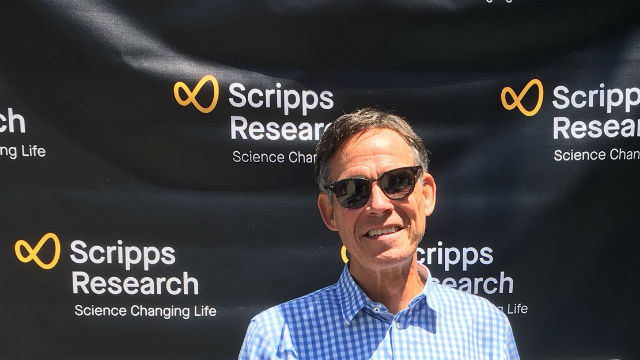 Eric Topol with new Scripps Research name and logo