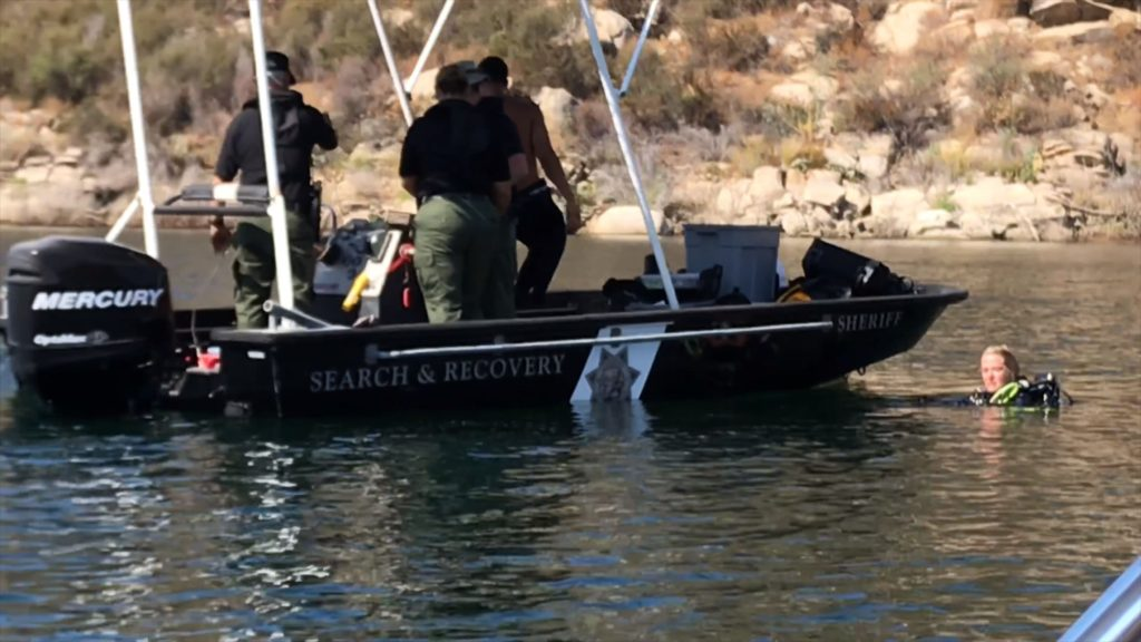 Divers searching for missing Canadian girl in San Vicente Reservoir