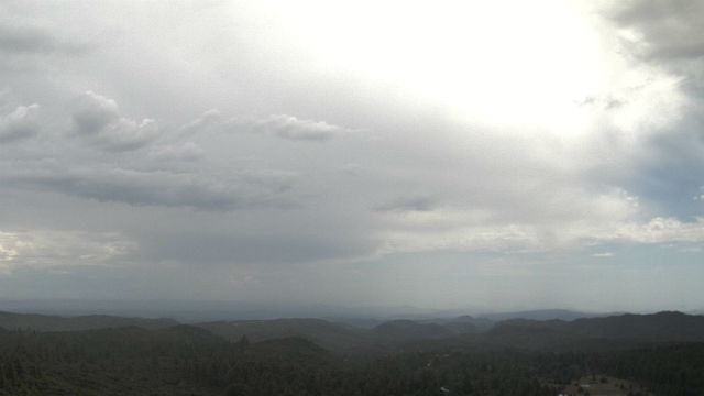 Thunderstorm over Mt. Laguna