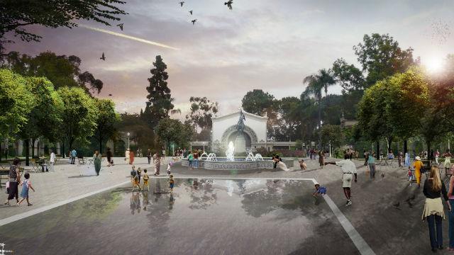 Plaza de Panama makeover rendering