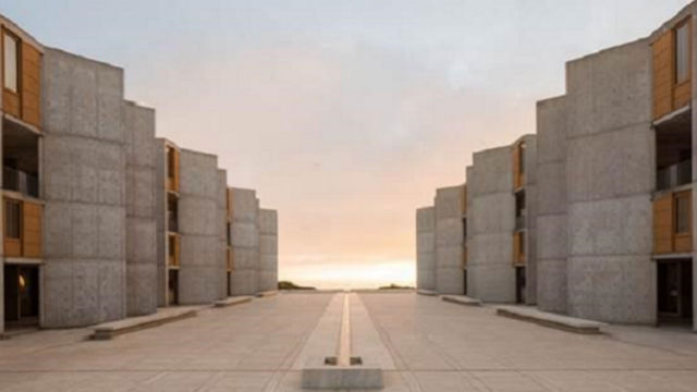 Salk Institute at sunset