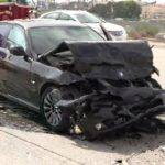 Four Car Pileup in Chula Vista