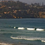 Surf off La Jolla shores