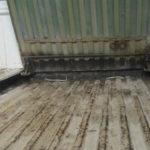 Secret space under pickup bed where narcotics were found