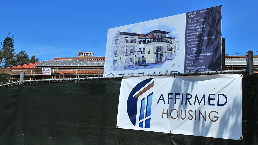 Zephyr, an affordable housing project for veterans, is under construction in Grantville.