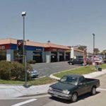 Oceanside strip mall near scene of Sunday shooting.