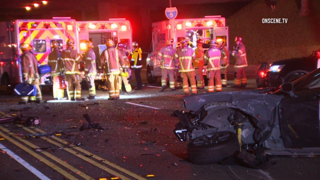 Irvine Fatal Multi-Car crash