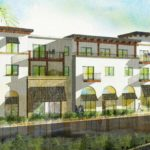 Artist's rendering of Outpost mixed-use development coming to Poway.