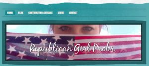 Morgan Murtaugh's website, launched in 2012, help capture the attention of Republicans.