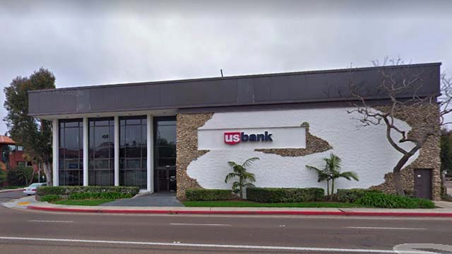 US Bank in Point Loma.