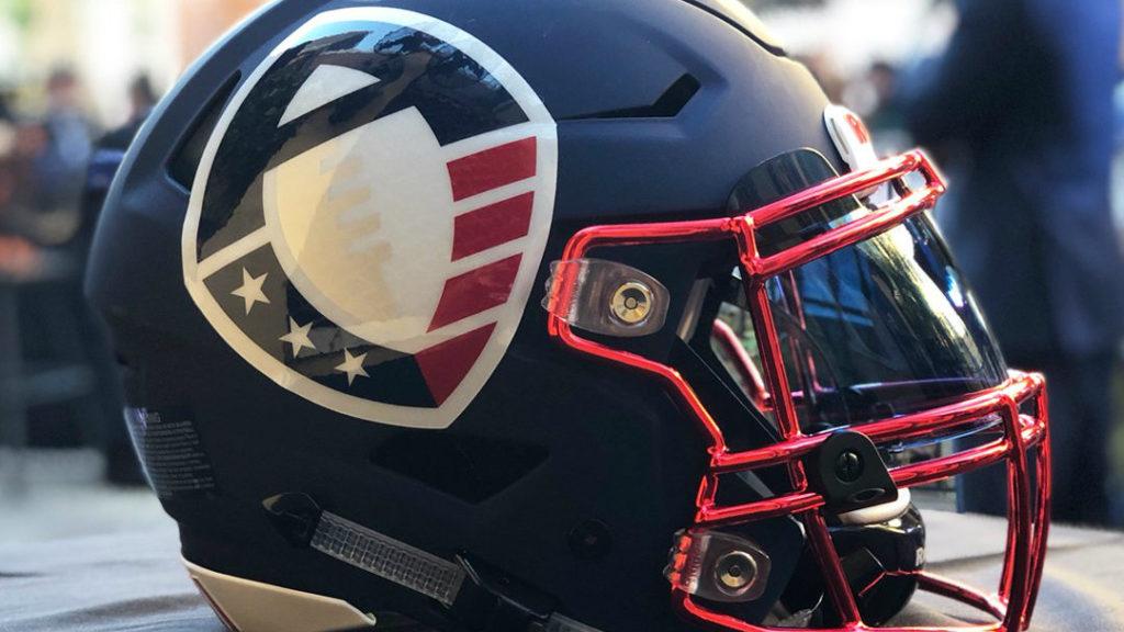 Alliance of American football helmet - AAF