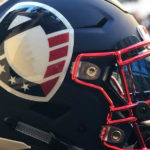 Alliance of American football helmet - AAF