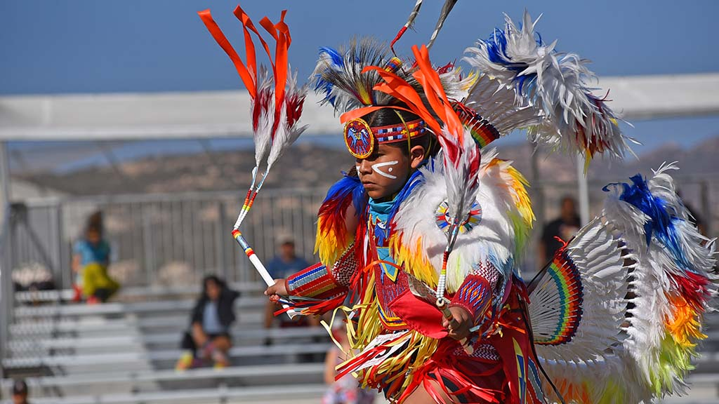 About 300 dancers competed in the 48th annual Barona Powwow.