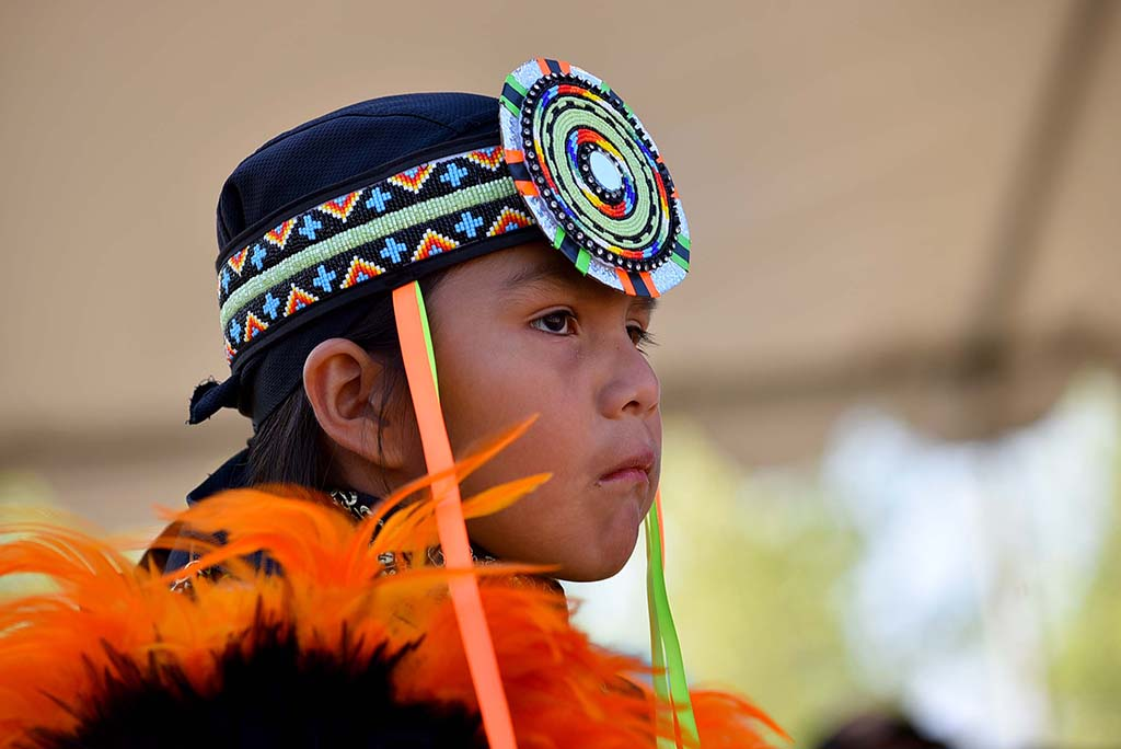 Seventy children competed in the 48th annual Barona Powwow which lasted for three days.