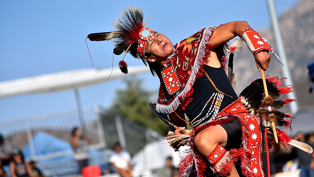 About 300 dancers competed in the annual powwow.