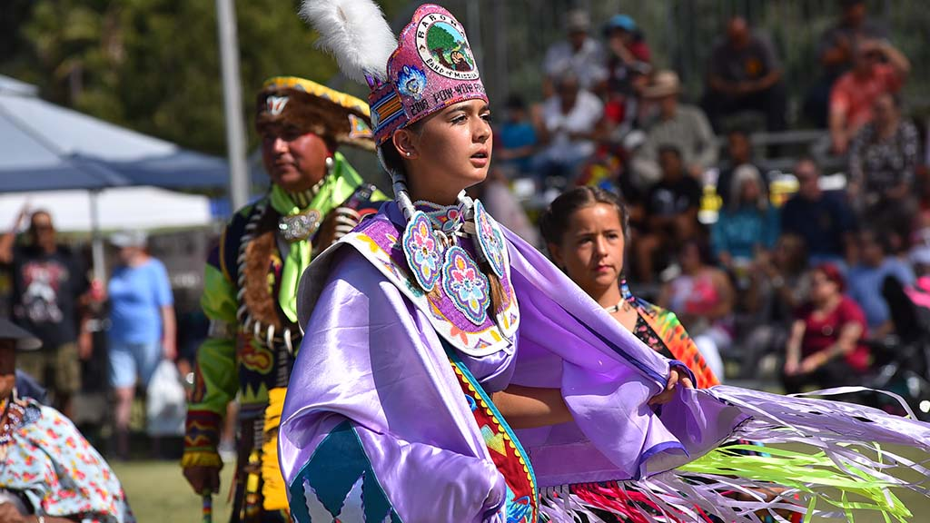 Jade Thompson was chosen the Barona Powwow princess.
