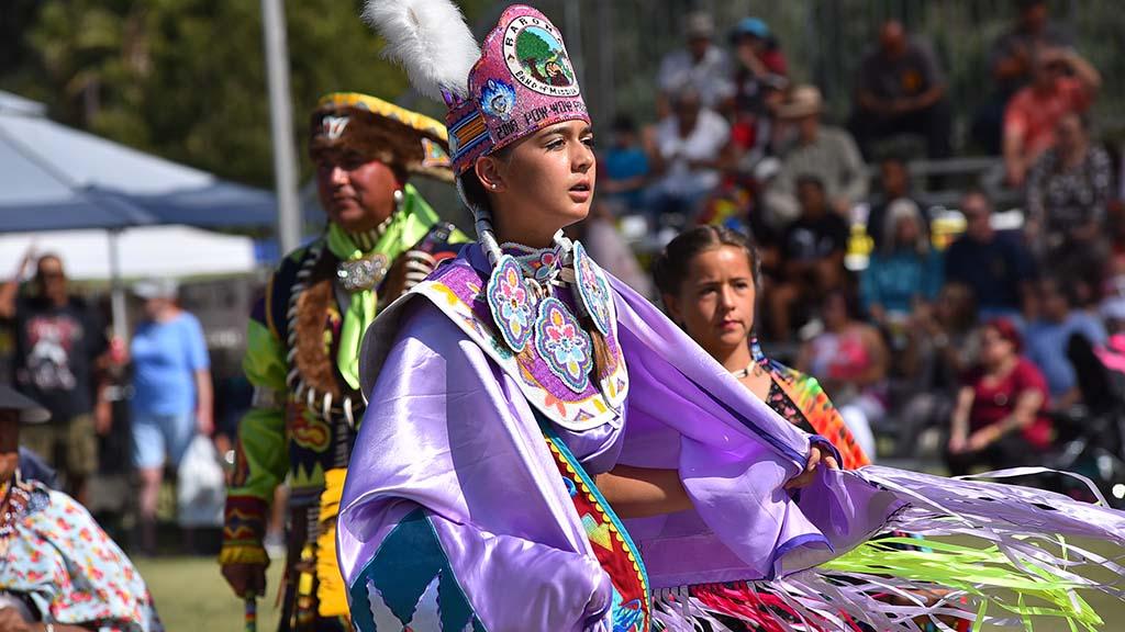Jade Thompson was chosen the Barona Powwow princess.