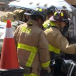 Driver Seriously Injured in Crash into City Water Truck | Times of San Diego